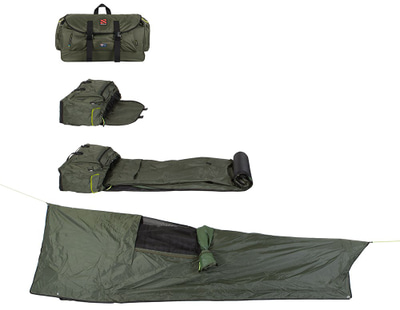 Untamed Backpack Bed Unrolled