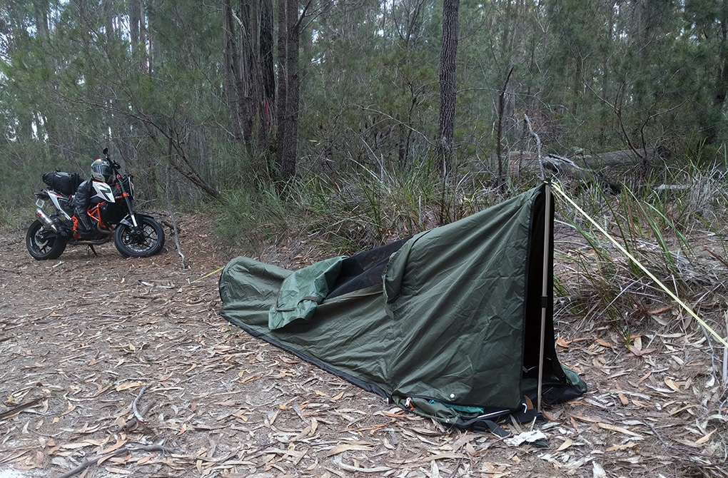 Backpack Bed For Motorcycles