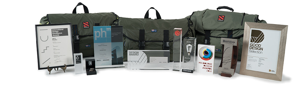 Backpack Bed Product Design Awards
