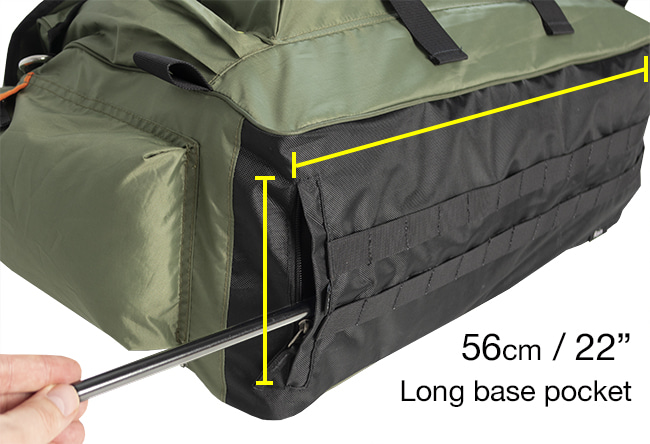 SEASONFORT EXPANSE Backpack Bed pole pocket - full length