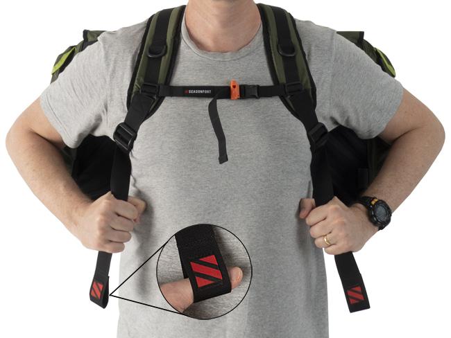 SEASONFORT UNTAMED Backpack Bed Chest Straps